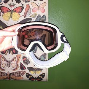 Girl ski goggles